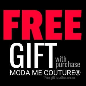 FREE GIFT with Purchase | MODA ME COUTURE®